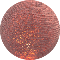 Хлопковый шарик Dirty Rose