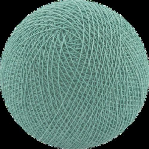 Хлопковый шарик Sea Green