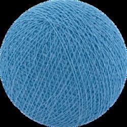 Хлопковый шарик Bright Blue
