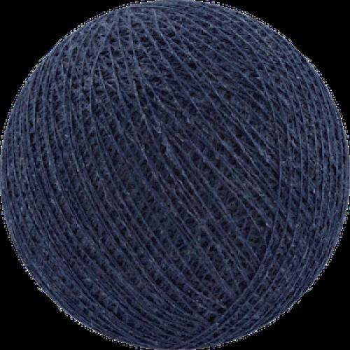 Хлопковый шарик Dark Blue