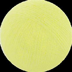 Хлопковый шарик Soft Yellow