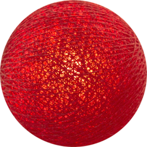 Хлопковый шарик Red
