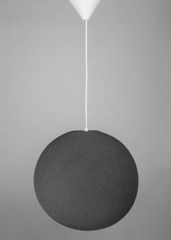 Хлопковая лампа Mid Grey