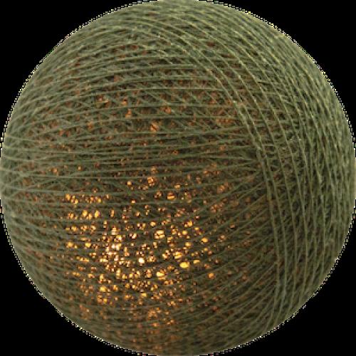 Хлопковый шарик Khaki