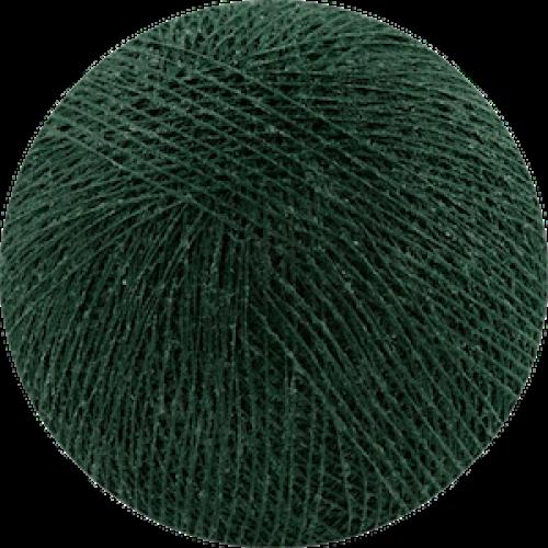 Хлопковый шарик Dark Green