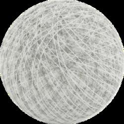 Хлопковый шарик Mix White Stone