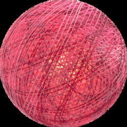 Хлопковый шарик Mix Pink