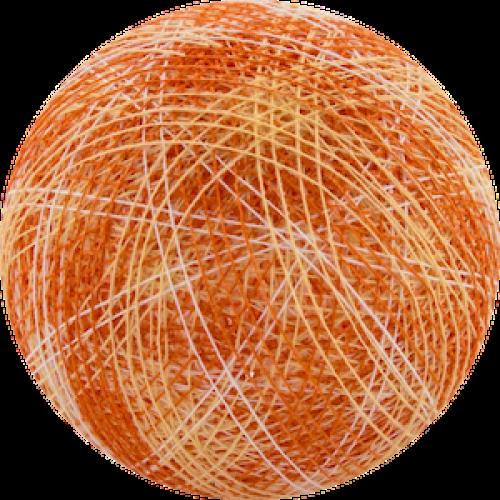 Хлопковый шарик Mix Orange