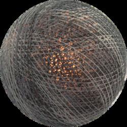 Хлопковый шарик Mix Grey