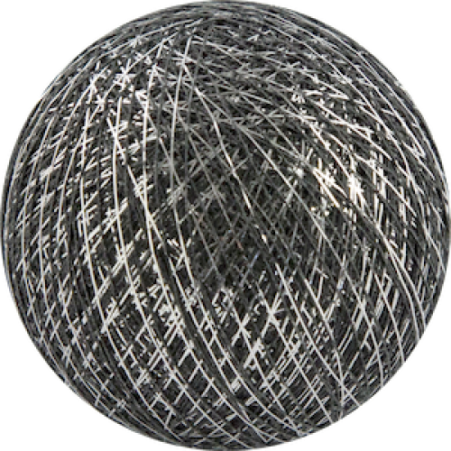 Хлопковый шарик Silver Antracite