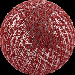 Хлопковый шарик Silver Red