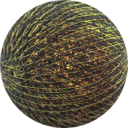 Хлопковый шарик Gold Antracite