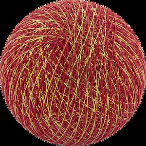 Хлопковый шарик Gold Red