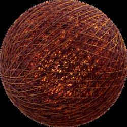 Хлопковый шарик Dark Red Copper