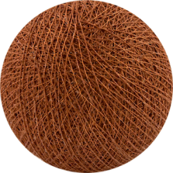 Хлопковый шарик Red Copper Copper