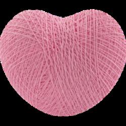 Хлопковый шарик Heart Soft Pink