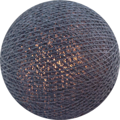 Хлопковый шарик Steel Blue