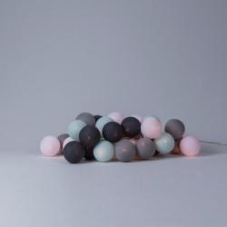Декоративна гірлянда Aqua-Grey