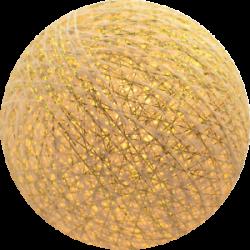 Хлопковый шарик Gold Shell