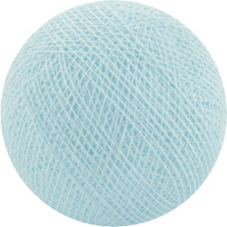 Хлопковый шарик Light Blue