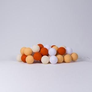 Хлопковая гирлянда Orange