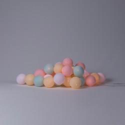 Хлопковая гирлянда Pastel