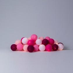 Хлопковая гирлянда Pink