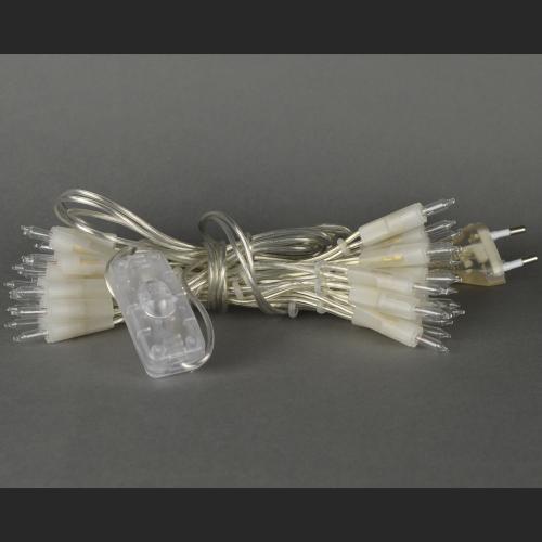 Тайские фонарики гирлянда на 50 лампочек в длину  (in-line)