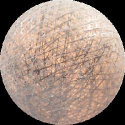 Хлопковый шарик Silver White