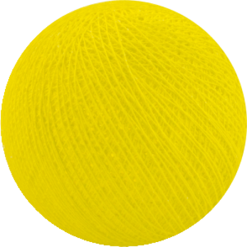Хлопковый шарик Yellow